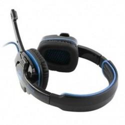SADES SA-901 7.1 csatornás sztereó fülhallgató USB csatlakozóval, PC Gaming Headse D9O3