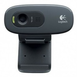 Logitech HD Webcam C270 Webcam HD beépített mini-telefonnal kompatibilis Skype K1R8