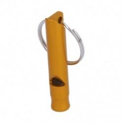 1X (túlélési síp arany vészhelyzetű síp kulcstartóval. C8Z6)