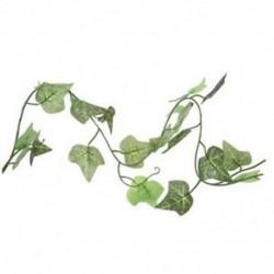 Mesterséges borostyán levél növények szőlő lomb lakberendezés K6M5