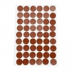 2X (öntapadós csavaros fedősapkák, 54 az 1-ben, 21 mm-es lyukátmérőhöz, M6M4)