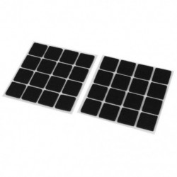 Öntapadós padlóvédők Bútorok filc négyzet alakú párnák 32db P2P3