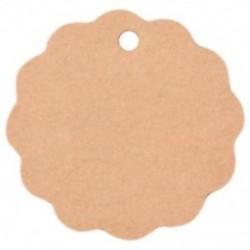 10 db üres sütik, kézműves papír, kupon címkék, esküvői party Favor Label Gif D5O6