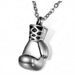 Hamvasztási ékszerek rozsdamentes acélból készült boksz-kesztyű, memóriahamu medál, Urn N P4V6