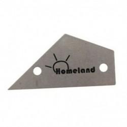 Homeland Fret Rocker rozsdamentes acél készítők Luthiers Fret Finder gitár Lut W8W5