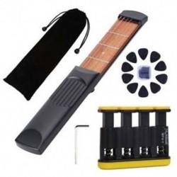 1X (Meideal hordozható zsebgitár gyakorló eszköz eszköz, gitárakkord-edző U1S7