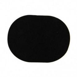 Puha arcápoló tisztító szivacs-pufflemez smink eltávolító fekete N9N9 A0N1