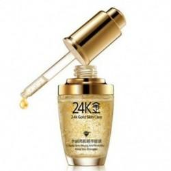 1X (Bioaqua 24K arany bőr hidratáló hialuronsav folyékony fehérítő Seru Z5W7
