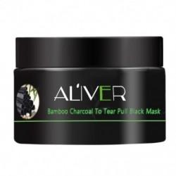 Aliver tartós hidratáló Hámlasztható Arcmaszk Mélytisztító Fekete Fej M1C8