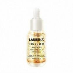 2X (LANBENA 24K arany ampulla szérum esszencia ráncok öregedésgátló finom vonal N8A3
