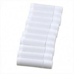 100 fehér üres balzsam csőtartály B8Z7 D2O5