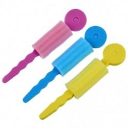2X (3 db színes, puha habos szivacsos hullámhosszúságú hajgöndör hajcsavaró C5T8)
