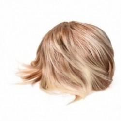 Hűvös nők szőke paróka hőálló rövid parókák hamis haj Pixie Cut H3E4 N8 E6K0