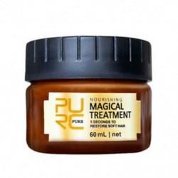 3X (PURC 60ml mágikus keratin hajkezelő maszk 5 másodpercig javítja a H U1X7 károkat