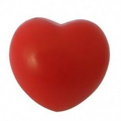Szív stresszoldó labda piros B5Q7