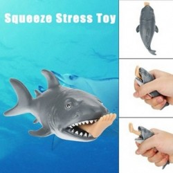 Kreatív vicces játék Squeeze stresszgömb Alternatív humoros cápa Eat Human W3L6