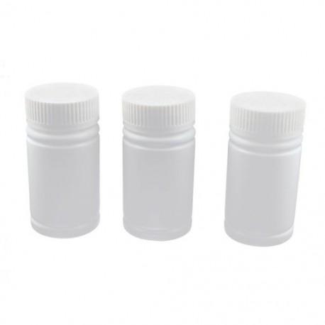 1X (Üres műanyag palackok Tablettát tartalmazó tabletta tartótartó 3db Fehér Y9U8)
