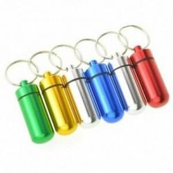 1X (6db vízálló alumínium doboz tok, palack gyorsítótár, gyógyszertartó, kulcstartó R3G2