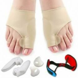 2X (Javító és bunion megkönnyebbülés védő hüvelyek készlet - fájdalom kezelése a Hallux H6G4-ben)