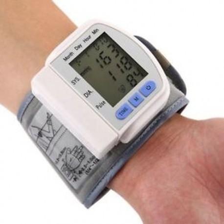 LCD digitális kijelző képernyő Kezdőlap Automatikus csukló vérnyomás impulzus Sphygm S7X7