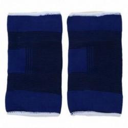 Kék sportruházat Stretchy ujjú könyöktartó tartó 2 db P5P2
