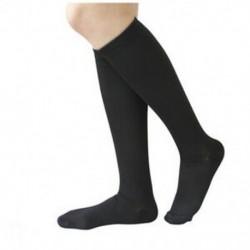 2X (1 pár kompressziós zokni fáradtsággátló fekete férfiaknak EU 38-42 W8L4)