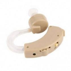 Műanyag Super Mini állítható hallókészülékek Fülhang-erősítő hangerő-hangjelű B5V7
