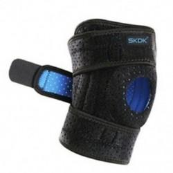 2X (SKDK 1db térdtartó 4 rugós zsanérok Professzionális sport térdtámasz térd L7Q3