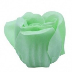 6 db zöld illatú fürdőszappan rózsaszirom, szív típusú M2I2 dobozban