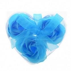 3 db rózsaszínű baba kék fürdő szappan szívdoboz Y6K9