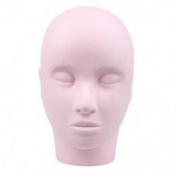 2X (Mannequin fej smink edzés szempilla meghosszabbítása kozmetológia Face-Yel J5P9