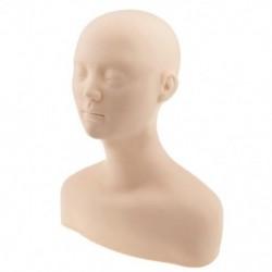 1X (lágy akupunktúrás gyakorló masszázs manöken fej próbabábu fejét PractiP7I8)