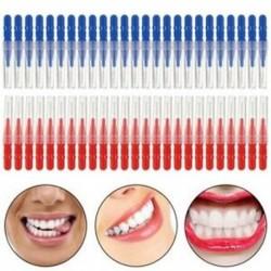 2X (kefe 50db fogfogó fogselyem fej szájon át fogfogó fogkezelő fogak tiszta Re H1Y6