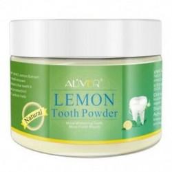 8X (életlen citrom kivonat fogfehérítő fogak por borsmenta fogak fehér U7J5