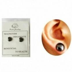 2X (Egészséges stimuláló akupontok fülbevalók ékszer mágnesek karcsúsító Pat O7M4