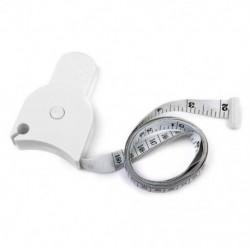 Testmérő szalag a derék étrendének Fogyás Fitness Health W3D7 mérésére