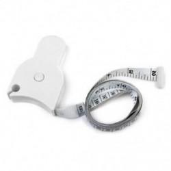Testmérő szalag a derék diéta súlycsökkenés Fitness Health D2Q5 mérésére