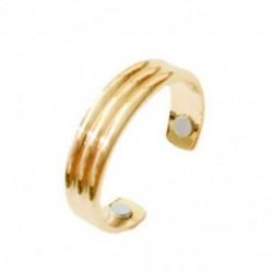 4X (divatékszerek, mágneses egészségügyi gyűrű, vékony testtömeg, Fit SlimF4B7