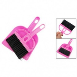 Irodai otthoni autótisztítás Mini habverővel tisztított seprű szett rózsaszín fekete C2K7