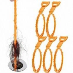 Drain Snake Hair Clog Remover tisztító eszköz Műanyag mosogató csővezeték kampó a G1A3-hoz