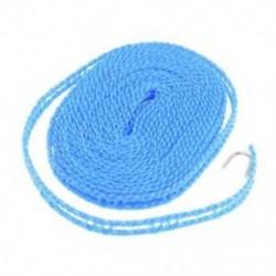 Ház mosoda Nylon húros ruhaszárító 5 méter ruhaszárító kötél kék P3A6 T1J2