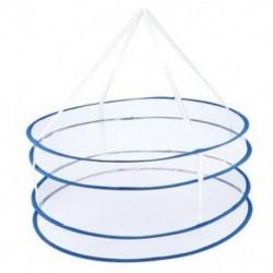 1X (szárítóasztal, összecsukható, lógó ruhaszárító kosár szárító háló, 2 rétegű O2D4)