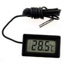 2X (LCD hűtőszekrény Fagyasztó Hűtő Digitális hőmérő hőmérséklet -5 G2R6