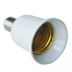 2X (E14-től E27-ig bővíthető alap CFL izzólámpa adapter átalakító csavar S U5K8