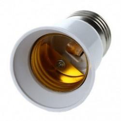 2X (E27 – E27 izzótartó ezüst tónusú fehér adapter-bővítő F4A8)