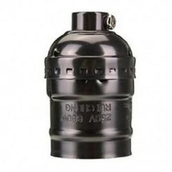 Edison Vintage lámpatestes aljzattartó adapter E27 Izzók - J6B5-hez alkalmas