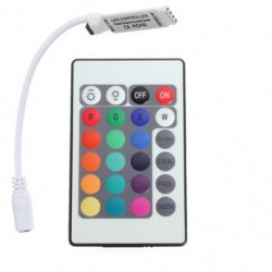 24 gombos Mini IR távirányító az RGB LED csíkhoz C9S6