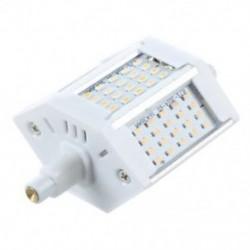 1X (R7s 78mm 60 SMD meleg fehér halogén lámpatartó lámpa csere 6W S2K3)