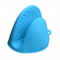 Kék - Szilikonkesztyűk Sütő Hőszigetelt kesztyűk Mikrohullámú sütő főzéshez nem G @ R6U3