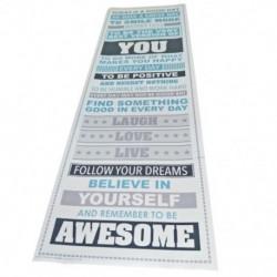 Légy félelmetes, motiváló motivációs boldogság idézetek Pr K1P1 dekoratív poszter